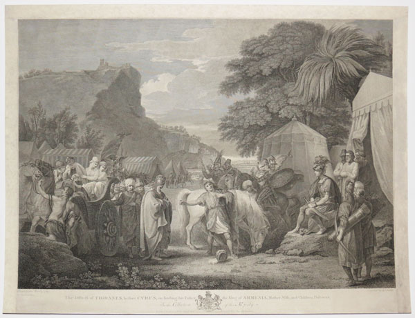 Cyrus Interrogates the Armenian King